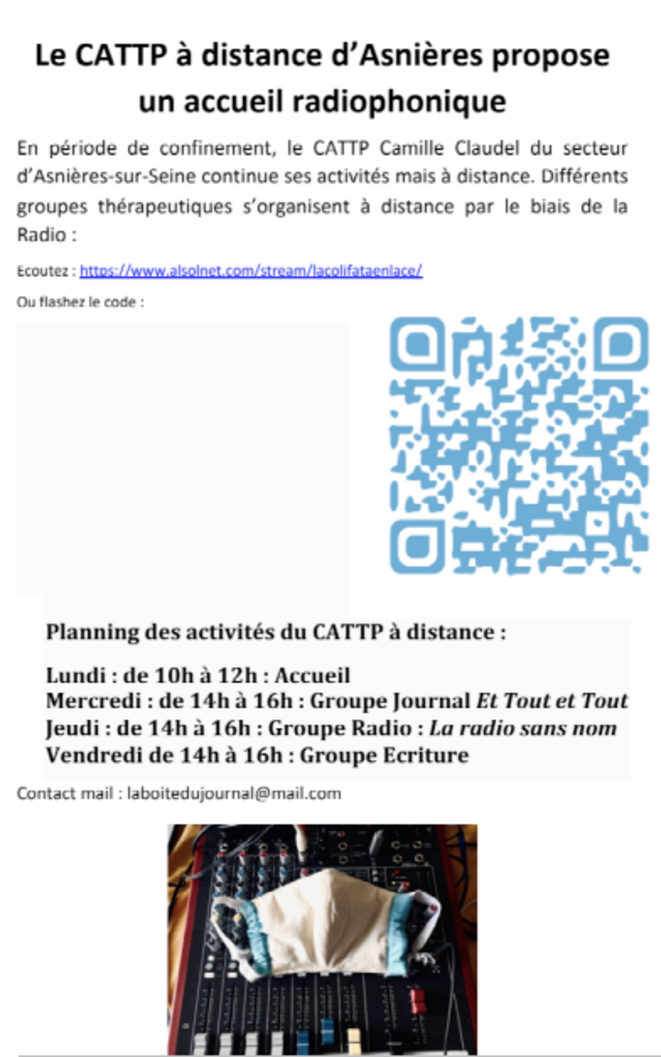 """Le CATTP """"on air"""" d'Asnières sur Seine © Benjamin Royer"""