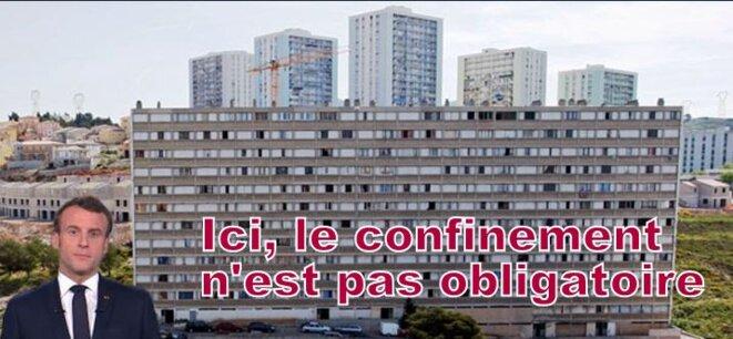 Macron et les banlieues © Pierre Reynaud