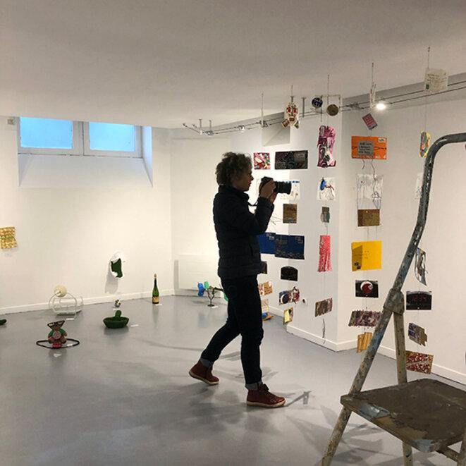 Atelier d'art contemporain pour adultes © Christophe Le François