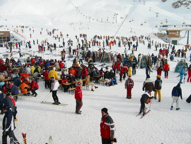 La station de ski d'Ischgl en 2003. © Leo-setä/flickr/CC