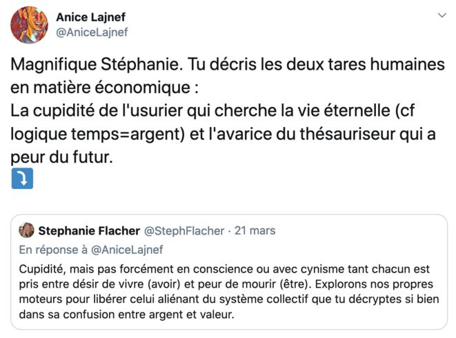 Thread @anicelajnef & @stephflacher