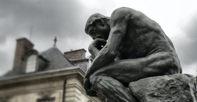 le penseur de Rodin © Rodin