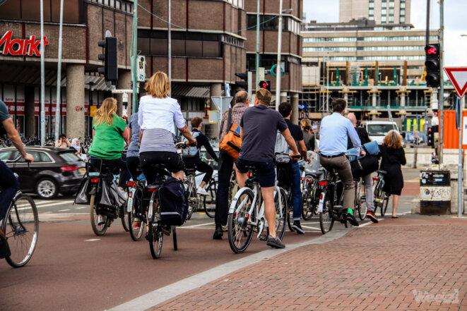 Vélos à Utrecht