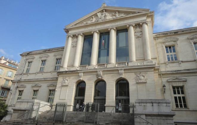 Le palais de justice de Nice. © DR