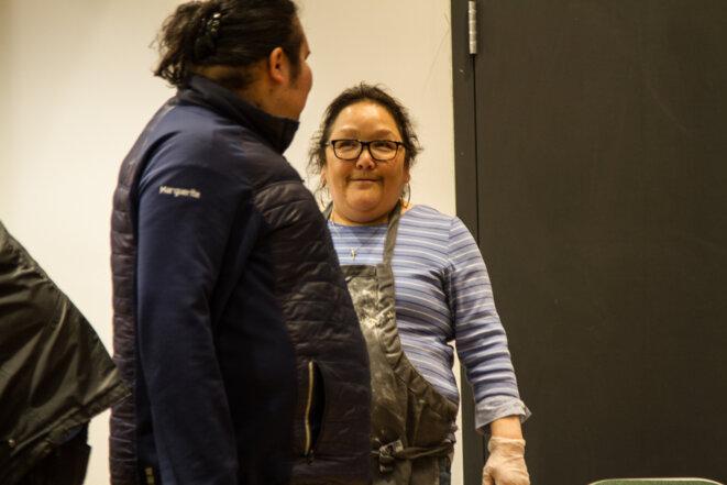Geneviève Mark, dynamique responsable du centre sportif et de loisir de la communauté