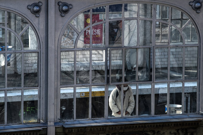 Le métro parisien durant le confinement | © AFP