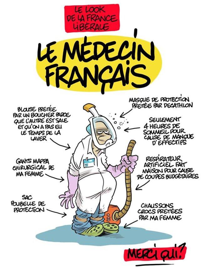 Le médecin français