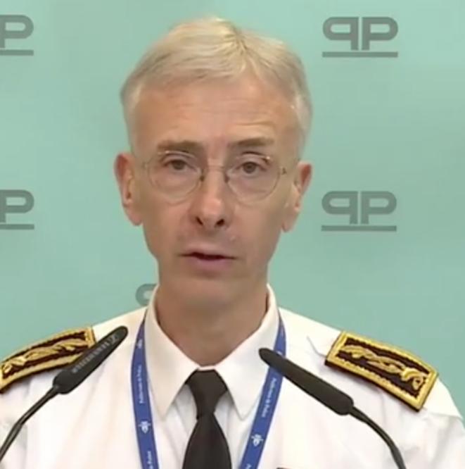 Le préfet de police de Paris, Didier Lallement, le 3 avril 2020.