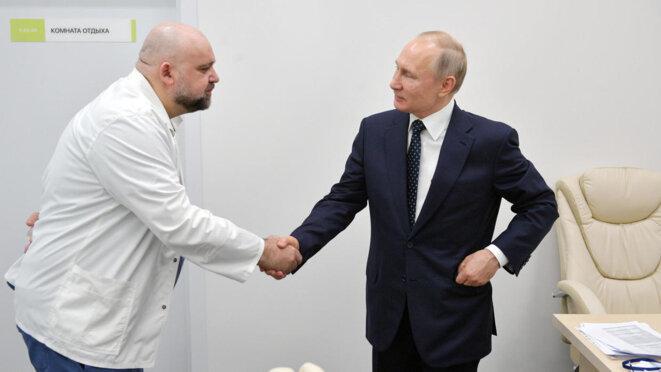 Poutine, le médecin Protsenko © REUTERS
