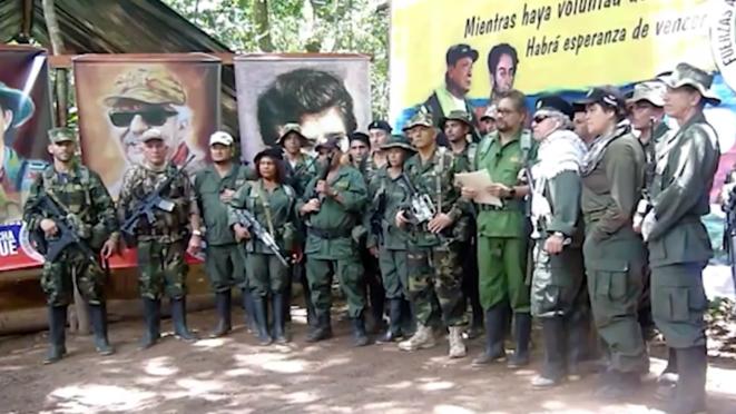 Ivan Marquez annonce en août 2019 dans une vidéo reprendre les armes. © Capture d'écran/YouTube