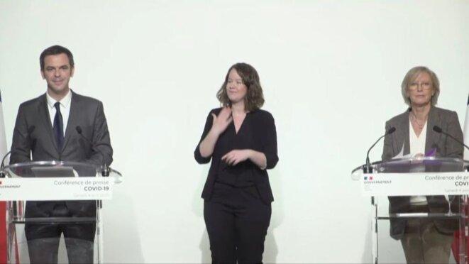 conférence de presse Olivier Véran et Sophie Cluzel