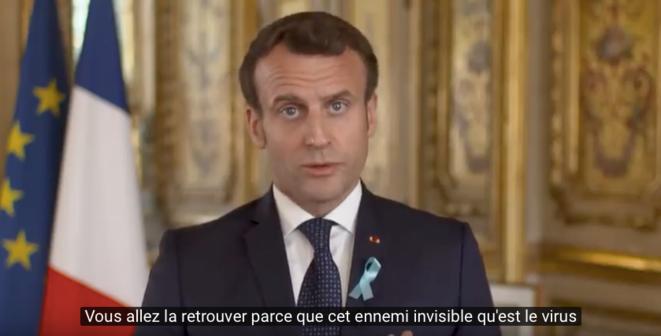 Message du Président de la République du 2 avril 2020
