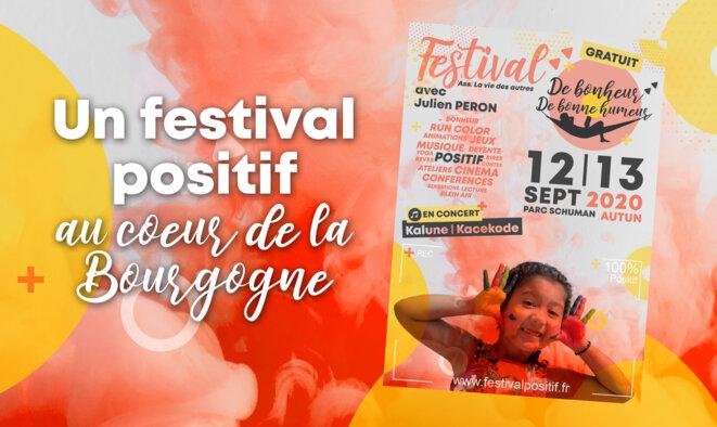 Festival Positif De bonheur De bonne humeur © Ass La vie des autres