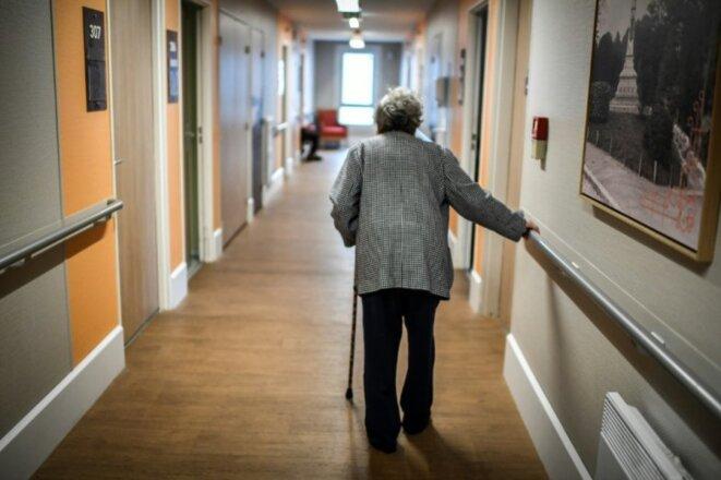Le dispositif de signalement des décès n'a été mis en place que le 28 mars. © AFP