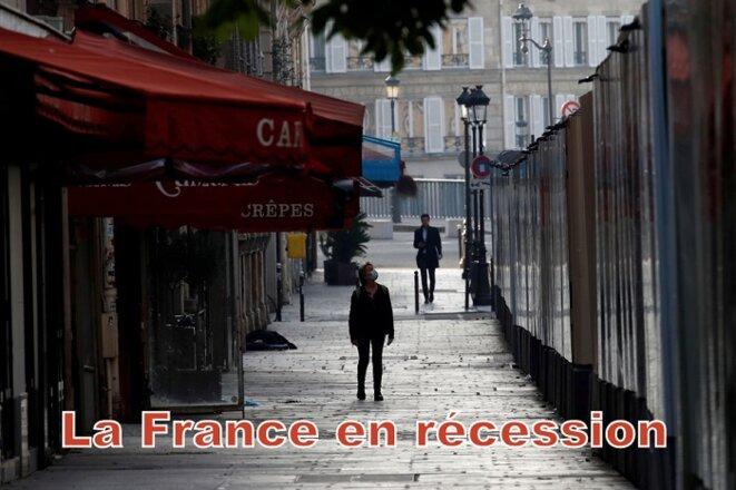 La France en récession © Pierre Reynaud