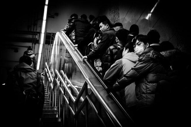 """""""La grosse erreur aux Etats-Unis et en Europe, à mon avis, c'est que les gens ne portent pas de masques"""", déclarait le chef du Centre chinois de contrôle et de prévention des maladies, Gao Fu, le 27 mars au magazine Science. © Vincent Bosc"""