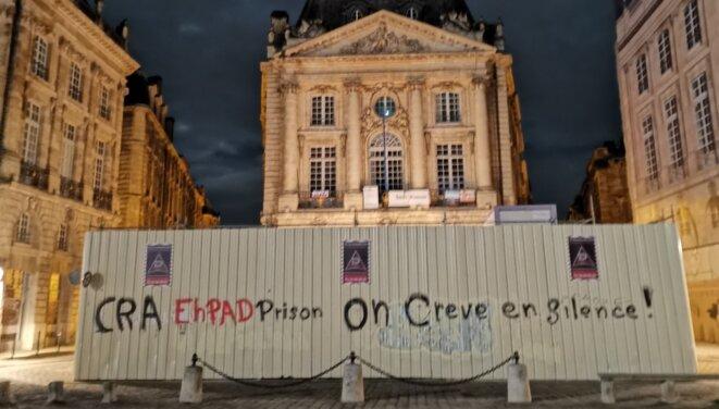 Bordeaux, une nuit d'avril 2020 © D.R.