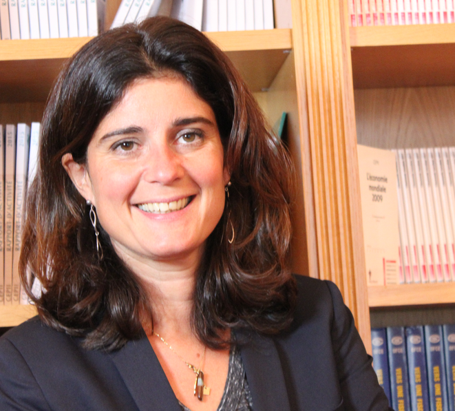 Anne-Laure Delatte, économiste au Cepii. © DR