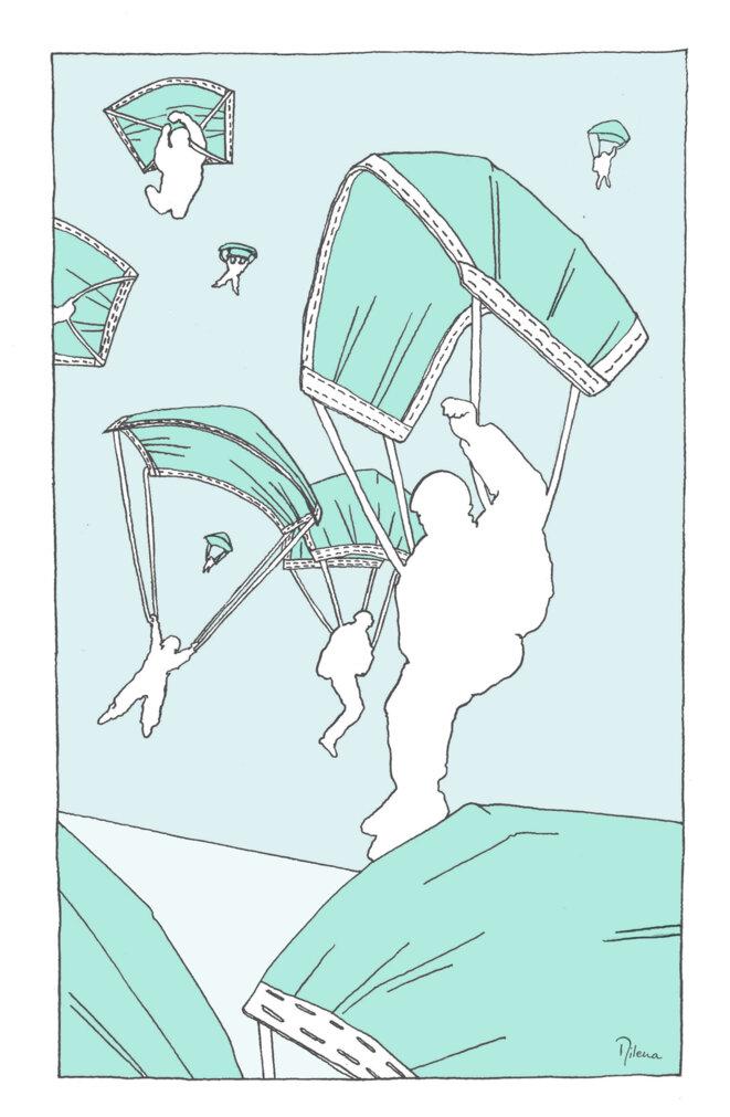 Pont aérien pour masquer les échecs de la France © Milena Denis Polania