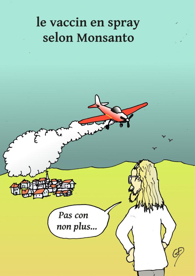 vaccin, covid 19, solutions, monsanto, épidémie, pandémie, recherche, raoult, © Guy Delaunay