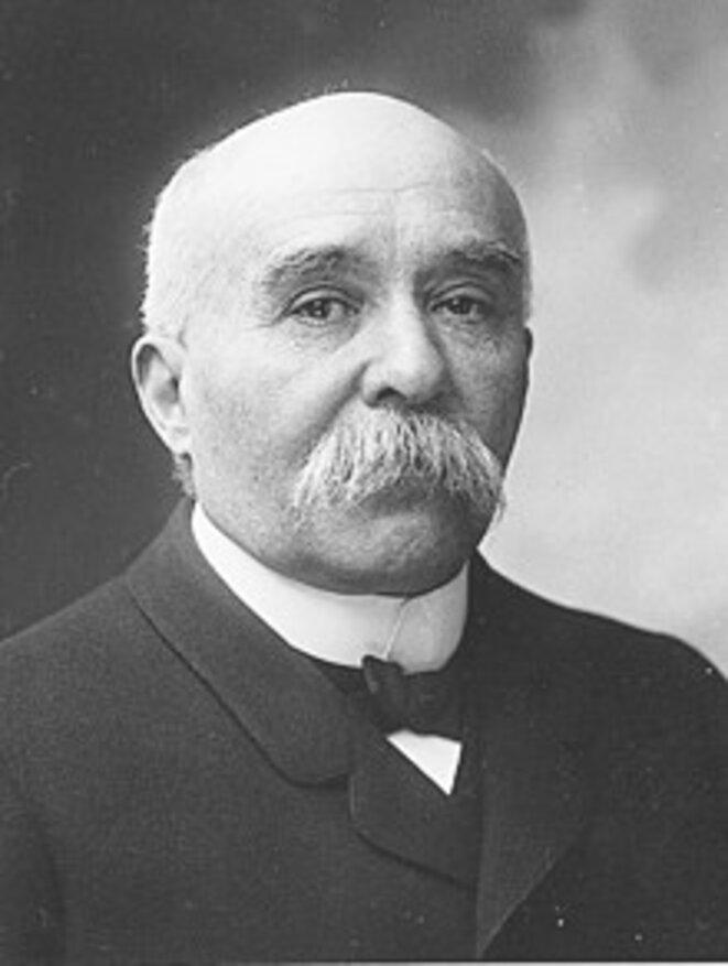 Georges Clemenceau en 1904. © Paul Nadar