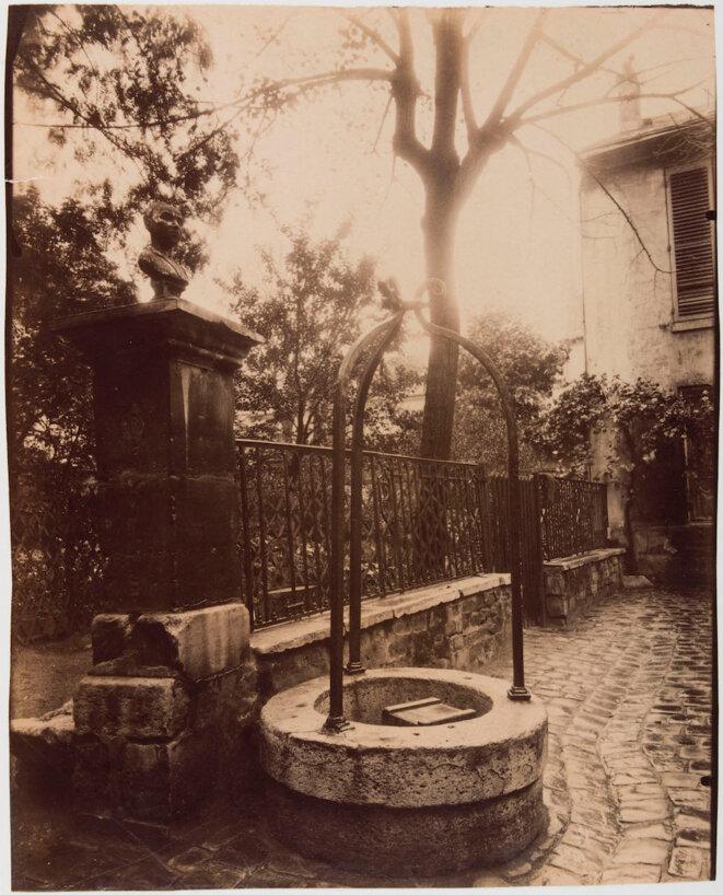 24, rue Tournefort, emplacement de la pension Vauquer dans «Le Père Goriot» de Balzac. © Eugène Atget CC0 Paris Musées/Musée Carnavalet