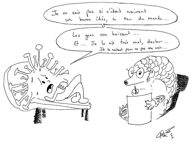 Le Covid19, virus fragile... © MacB23
