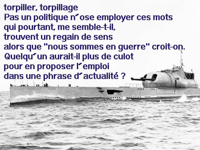 La torpille © Jacques Chuilon
