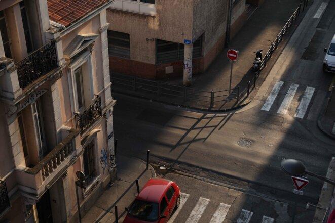 Quartier de La Belle de Mai à Marseille.
