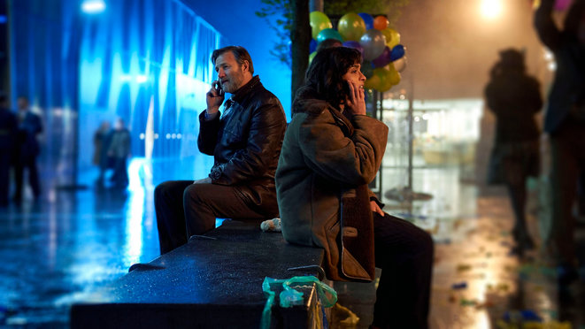 Extrait de l'adaptation du roman The City & the City de China Miéville par la BBC