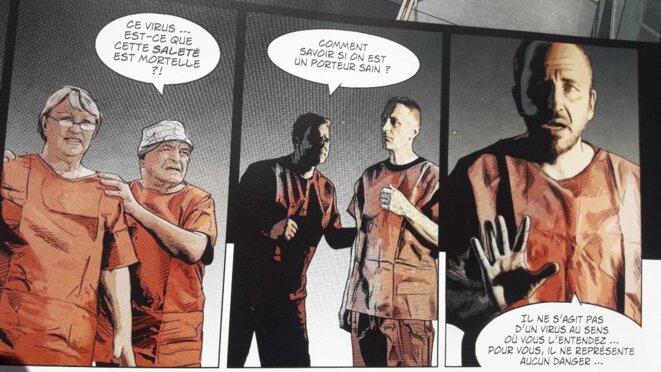© Morazano et Ponzo, Le Protocole Pélican, t. 3, Dargaud, 2013, p. 33