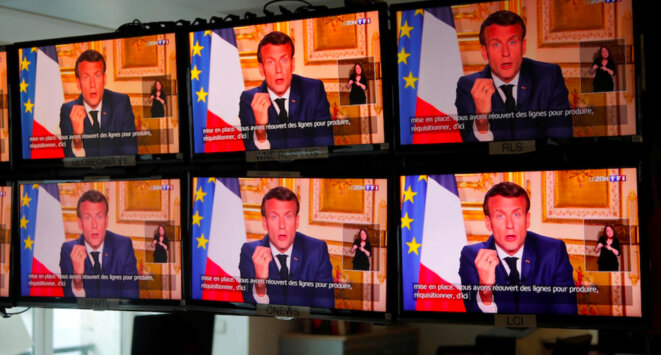 Paris, 20h02, 13 avril 2020