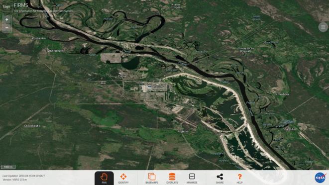 Zoom Réacteurs Tchernobyl