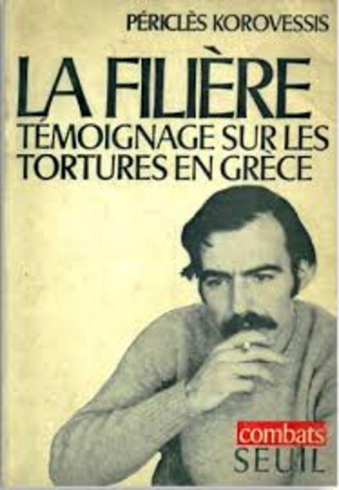 Couverture du livre la Filière, édition 1969 © Le Seuil