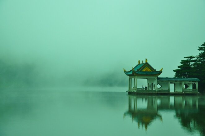le lac Lushan © Chuxiyue