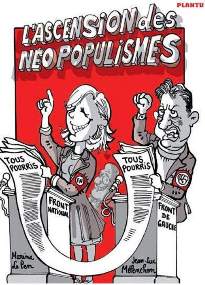 dessin de Plantu paru dans l'Express © Plantu