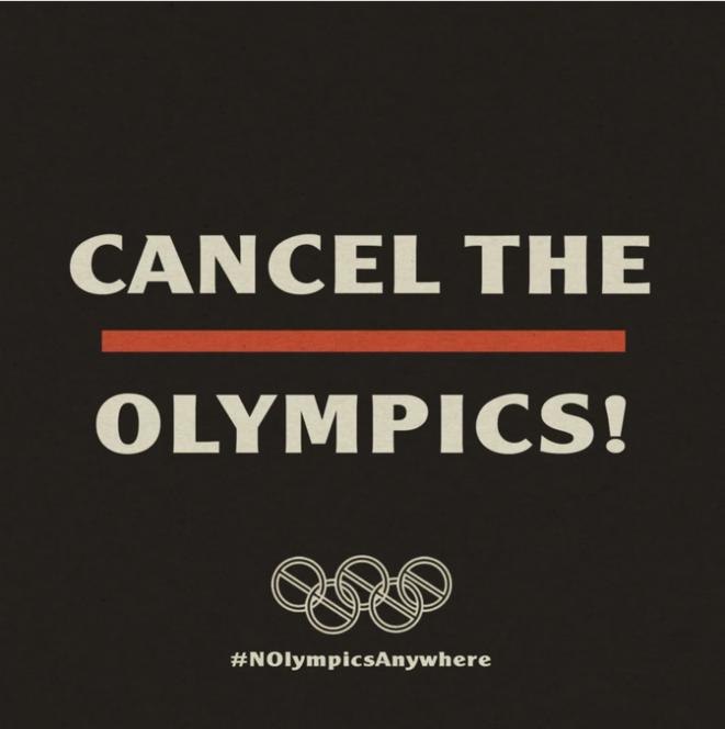Annulons les Jeux Olympiques © nolympicsla