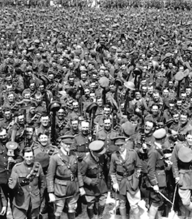 Rouen, camp britannique du Madrillet durant la Première Guerre mondiale. © www.patrimoine-normand.com