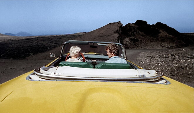"Mimsy Farmer et Robert Walker dans ""la route de Salina"" © Corona film"