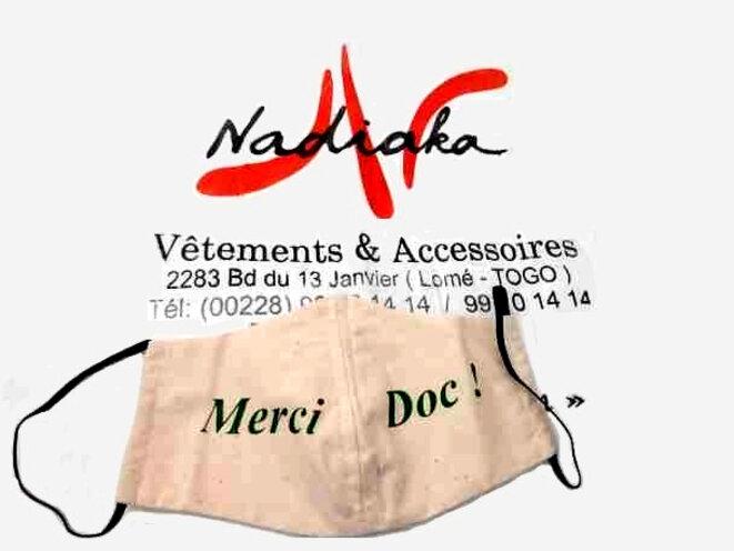 Togo, Covid-19, les masques made in Togo de la styliste Nadiaka