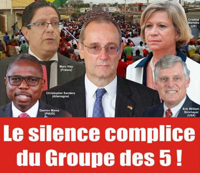 Une du journal togolais Le Rendez-vous, 11 mai 2019