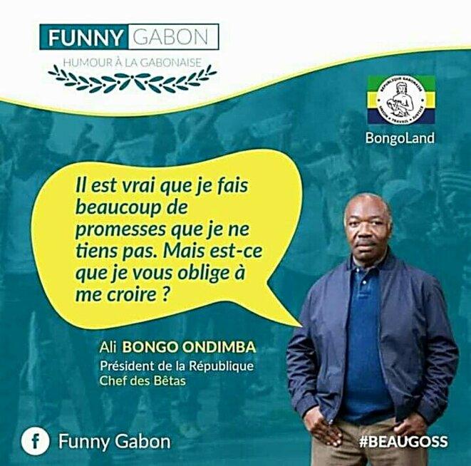Ali Bongo tourné en dérision par les internautes