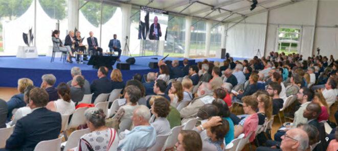 Archive - Vue d'ensemble - conférence -Normandie pour la Paix -2018.