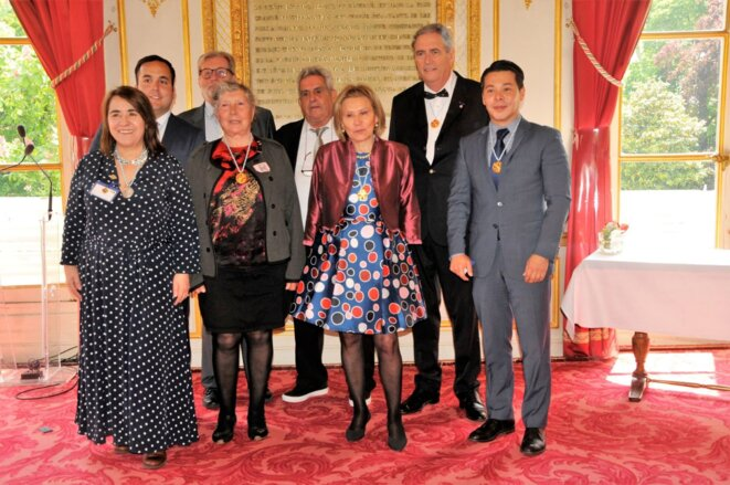 Photo des membres du Conseil d'Administration du Grand Prix Humanitaire de France