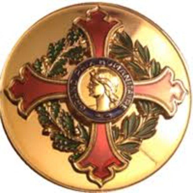 """La médaille du """"Grand Prix Humanitaire de France (GPHF)"""""""