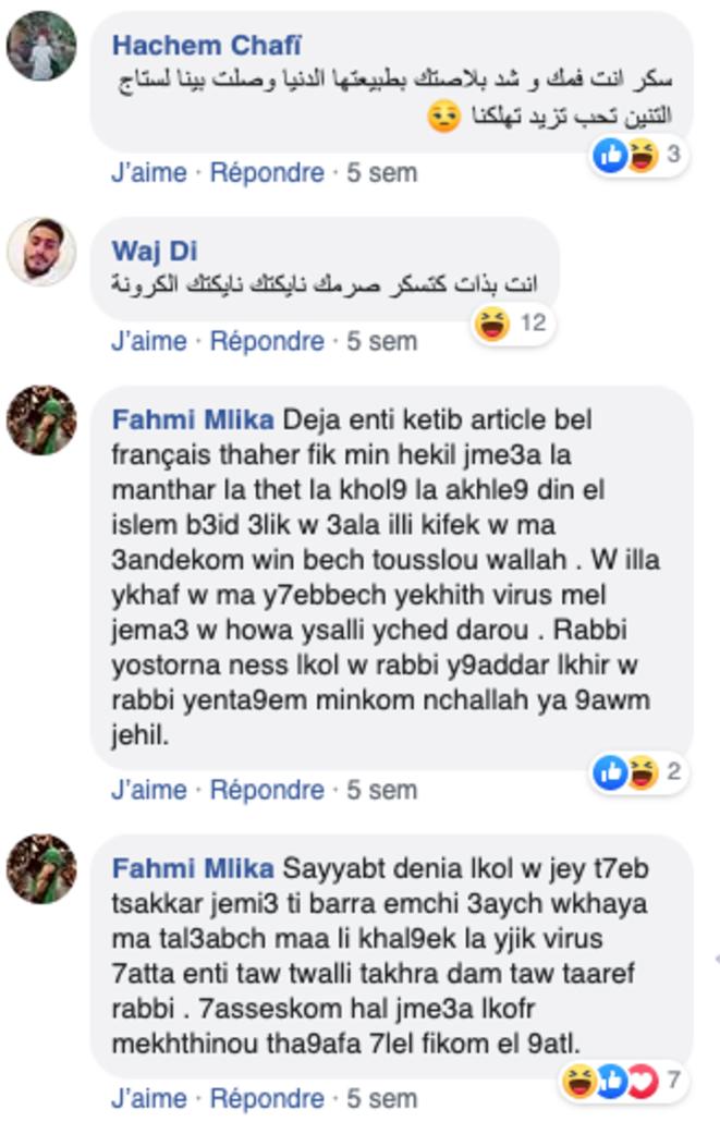 menaces de morts sur facebook