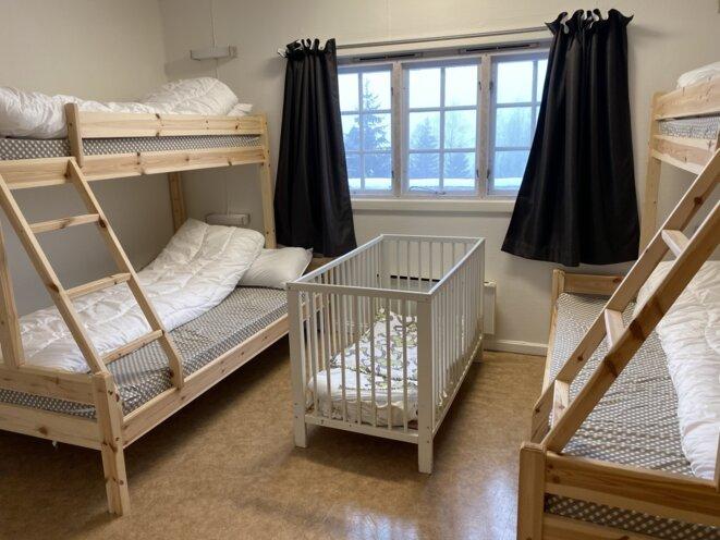 L'unité de Haraldvangen, en Norvège, où les enfants et leurs parents sont enfermés avant leur expulsion. © Ingeborg Eliassen