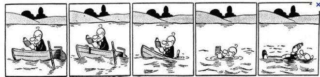 Le professeur Nimbus est le personnage d'un comic  strip  français « muet ». Il a été créé et dessiné par André Daix (de son vrai nom André Delachanal) en 1934. Il paraît pour la première fois dans le quotidien Le Journal, puis dans Le Matin de 1943 à 1944.