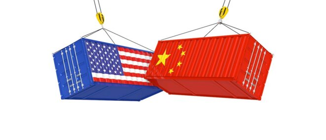 Containers chinois contre containers US