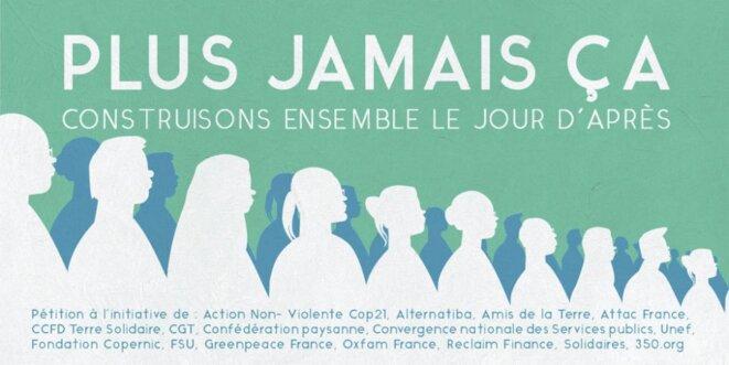 Image d'illustration de la pétition collective « plus jamais ça ».